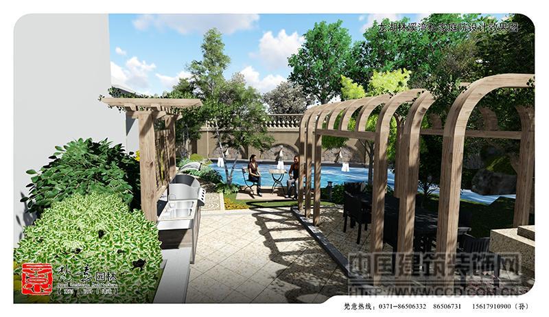 郑州龙湖林溪湾别墅庭院设计案例