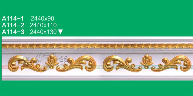 手工石膏线条精品免油漆安装广州材料厂