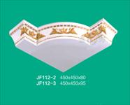 广州星洋装饰材料天花造型角喷金艺品易安装