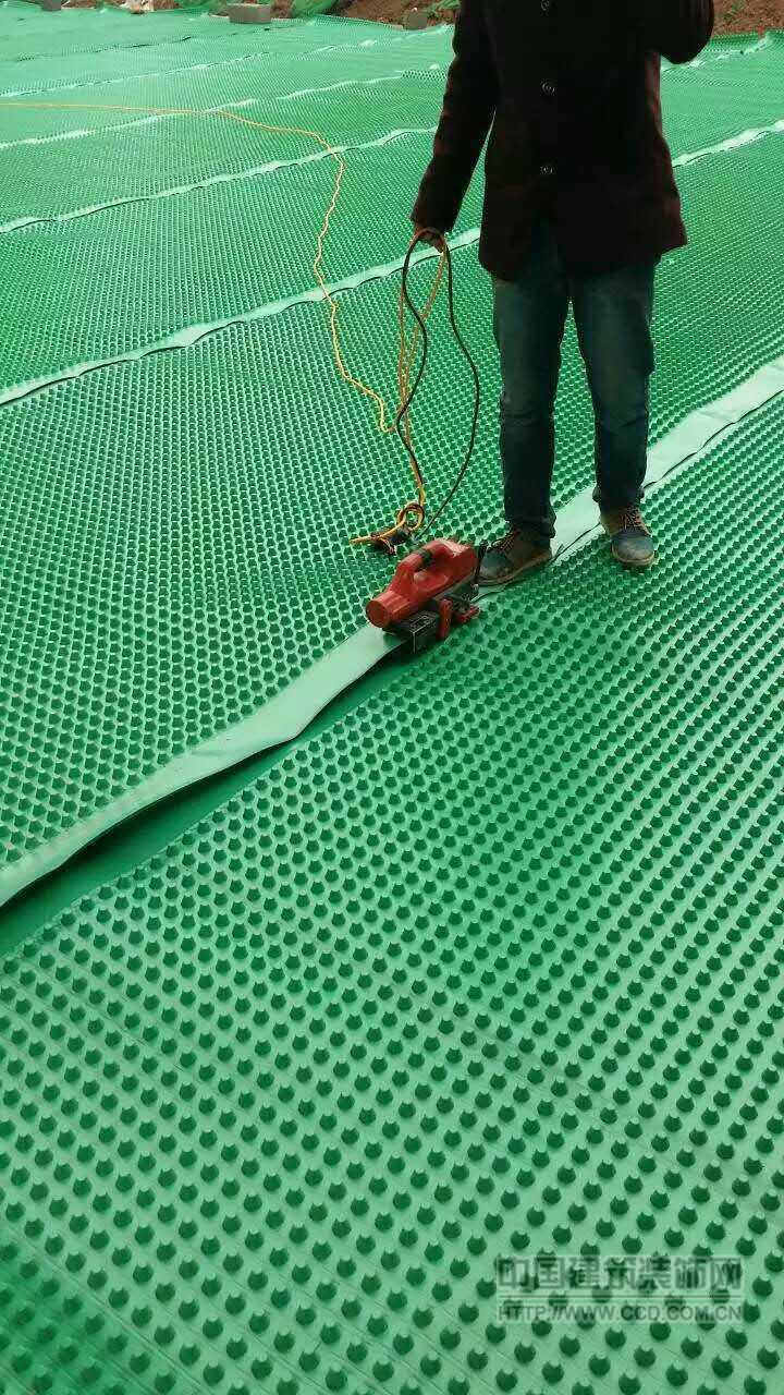 芜湖车库种植隔根板·屋顶花园排水板