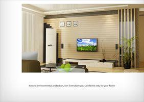 电视背景墙装饰材料 生态木浮雕板