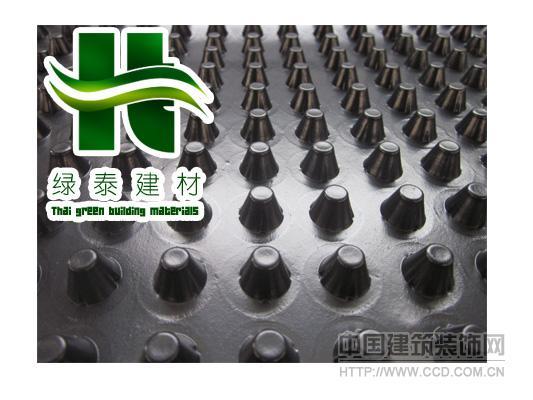 【日照】车库顶板滤水板%抗压排水板带土工布