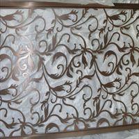 厂家定制不锈钢屏风隔屏风不锈钢钛金屏风隔断