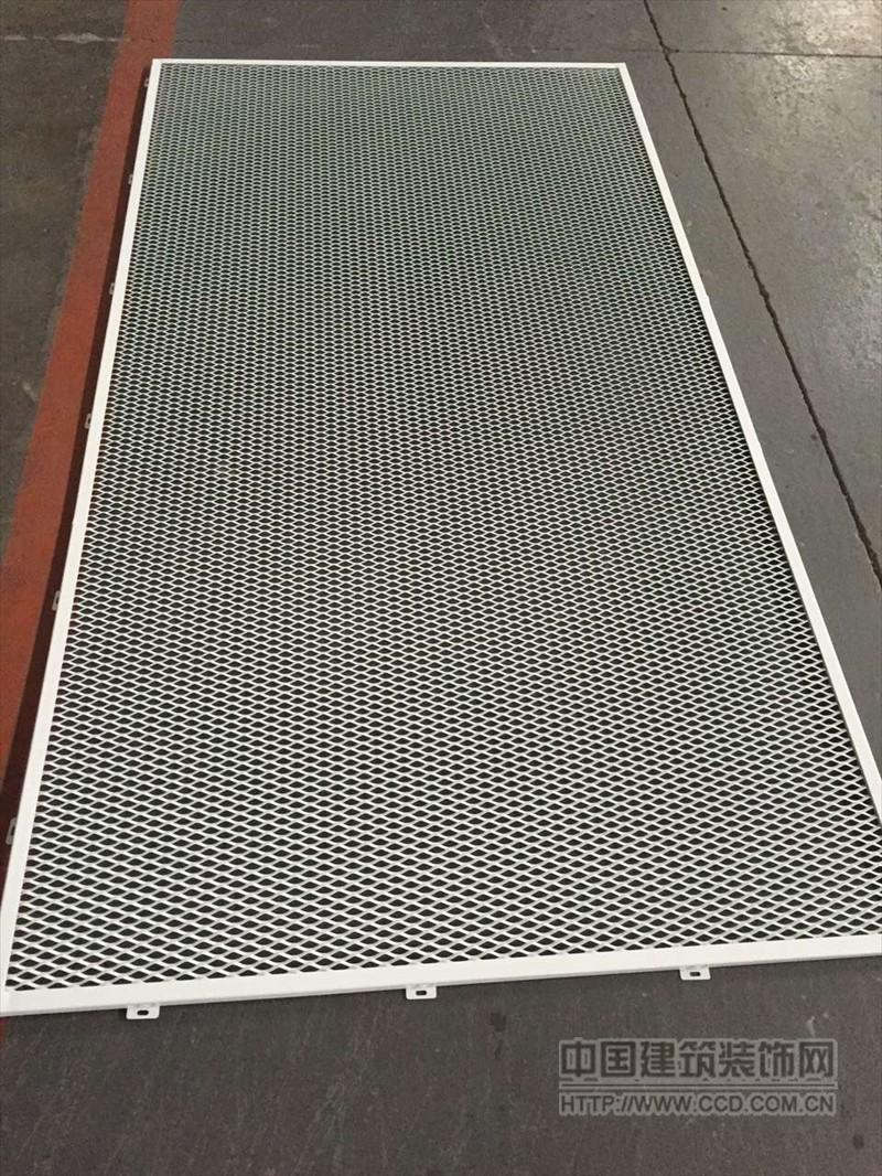 杭州外墙铝网板装饰 吊顶铝网格板天花