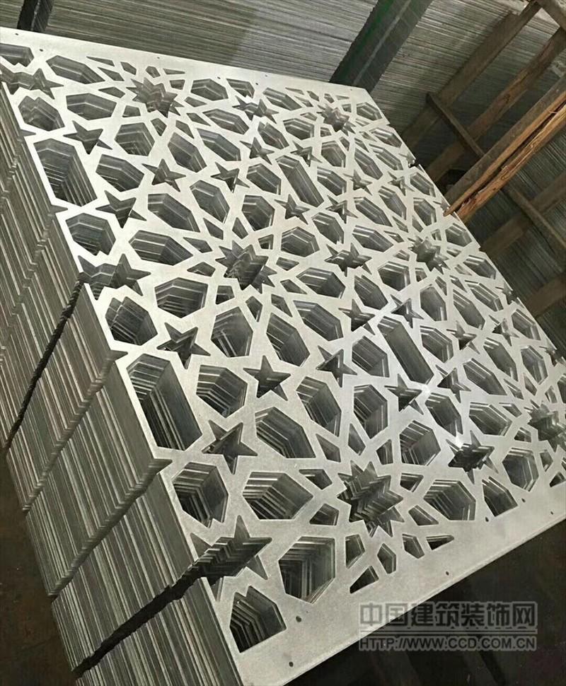 5mm厚镂空雕花铝单板