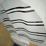 惠州奥园售楼部大厅吊顶造型铝天花