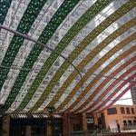 广州祈福广场造型弧形格栅