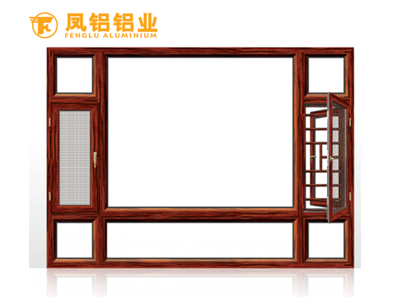 南昌十大高端系统门窗 凤铝65隔热外开窗系列定制