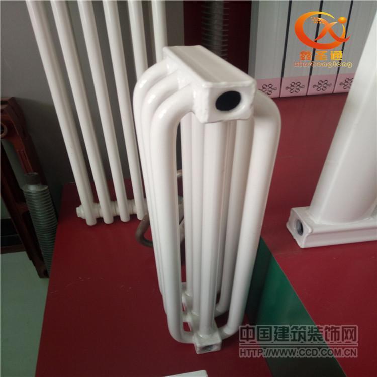 钢制弧管散热器 弧形暖气片 家用暖气片 单面弧散热器