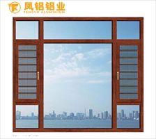 南昌十大品牌门窗凤铝70隔热平开窗封阳台