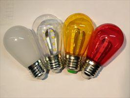 LED灯泡S14 圣诞灯泡 节日装饰灯串或吊灯光源