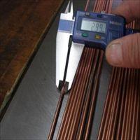T2小直径环保紫铜棒 公差0.02mm