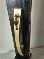 MIWA进户门锁U9PGF714W-1大拉手锁推拉入户门锁