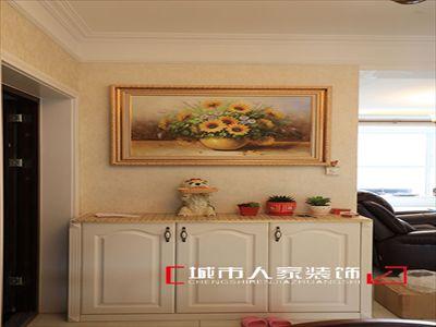 【万光福园】115平米美式风格实景图展示