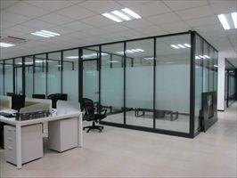 太原安装玻璃门 安装玻璃隔断技术精湛