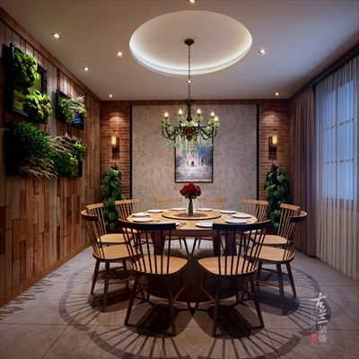 一品紅中餐廳-成都餐廳裝修設計公司