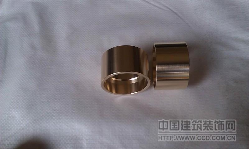 大口径厚壁铜套 H59非标黄铜套