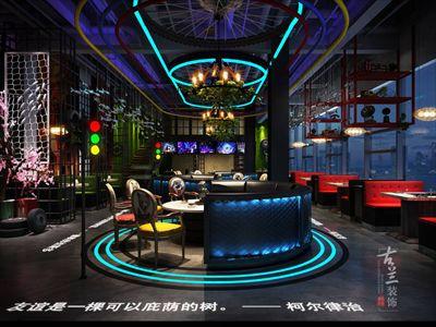 鱼乐汽车烤鱼餐厅-成都餐厅装修设计