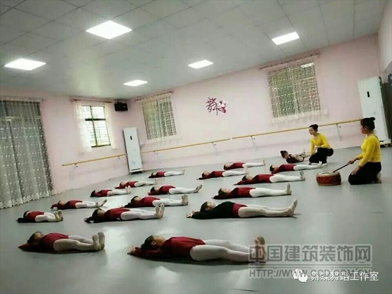 蹈形体房地板胶,舞蹈练功房地胶,舞蹈练功房地板