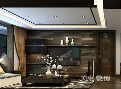 郑州美巢亚星盛世装修效果图-140平后现代黑白灰设计