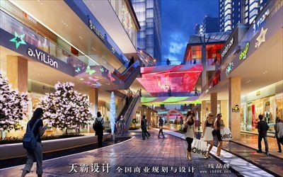 主题商业街设计效果图凸显商业街项目文化底蕴