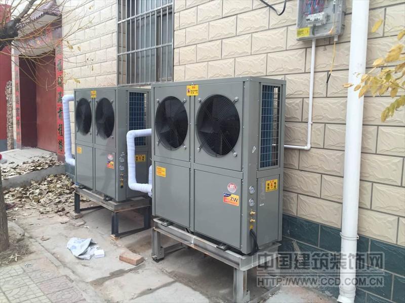 山东煤改电空气源热泵/热泵暖风机厂家直销
