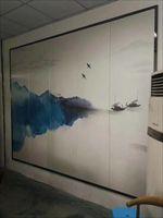 艺术硬包壁画