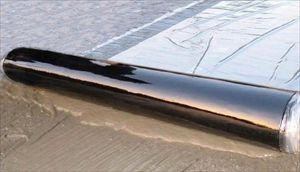 金属楼面专用材料-反应粘结型高分子湿铺防水卷材