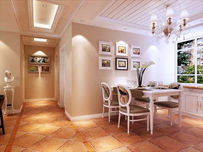 青岛装修:龙湖滟澜海岸380平别墅美式风格