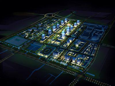 上海奉贤南桥新城规划设计