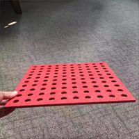 消音打孔穿孔吸音板生产工艺要求