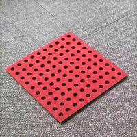打孔聚酯纤维吸音板施工流程