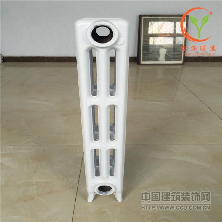 椭三柱450铸铁暖气片散热器适用范围广泛