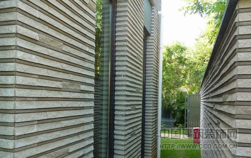 劈岩砖 别墅外墙瓷砖 劈岩石 环保艺术砖