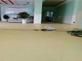 木纹花色PVC地板 商务地胶