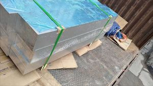 2017光面铝板 7075T6拉丝中厚铝板