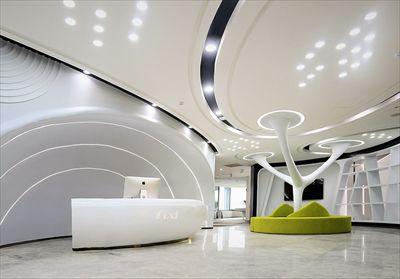 【天府星空】辦公室裝修設計完工圖