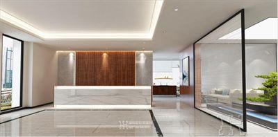 郑州喜来乐大型医疗集团办公装修设计案例
