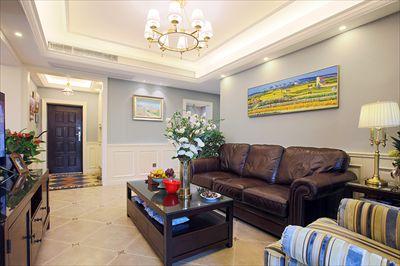 兰州510所三居室美式风格装修