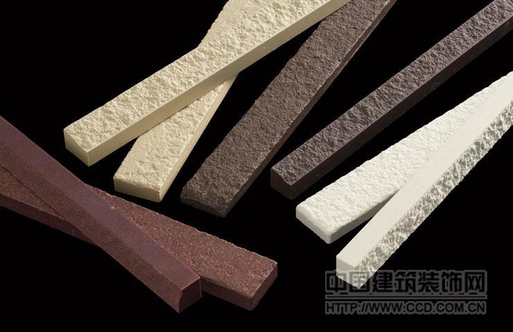 山形砖竹陶TILE线石艺术线条仿石砖