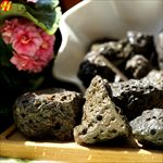 火山岩石毛块 卵石 原石 裸石