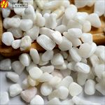洪利玉器厂白云石卵石玉石粒玉石卵石装饰卵石