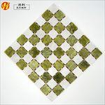 丹东绿马赛克 玉石板材 玉石背景墙 文化石