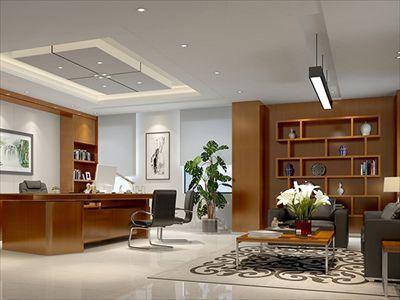东莞桑达办公室装修设计