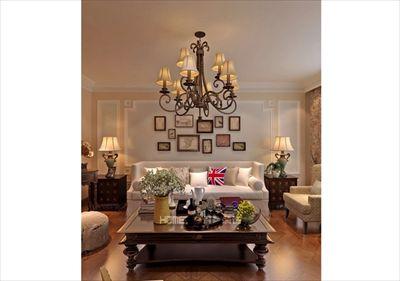 中海康城125平美式风格半包5.5万