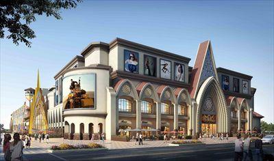 17广州美林商城外观改造方案