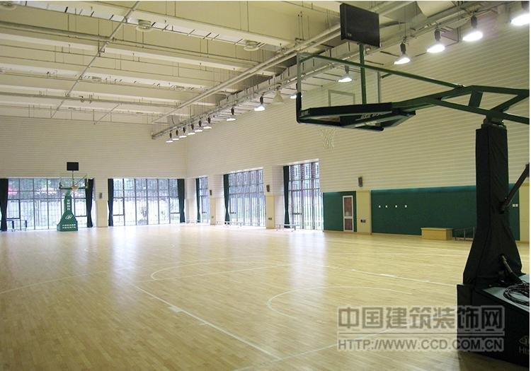 篮球场木地板 运动木地板 校区木板施工指定品牌