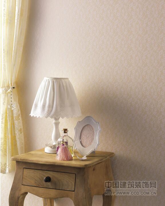 日本进口龙冉壁纸RUNON蕾丝效果墙纸