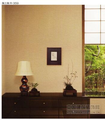 日本进口龙冉空气呼吸壁纸R-359