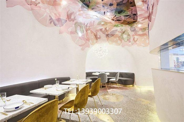 极具网红气质的特色海洋主题餐厅装修设计效果图